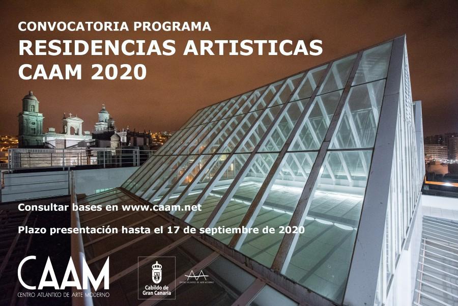 El CAAM convoca su programa de residencias artísticas 2020 // CanariasCreativa.com