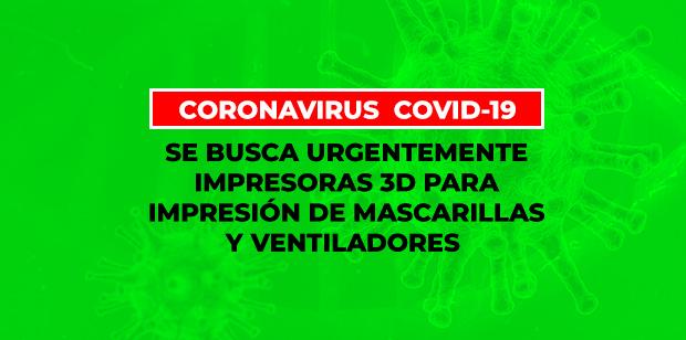 La Comisión Europea busca impresoras 3D y colectivos makers para impresión de de mascarillas y ventiladores para hospitales // CanariasCreativa.com