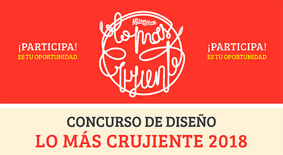Crea la nueva imagen para Lo Más Crujiente 2018 // CanariasCreativa.com