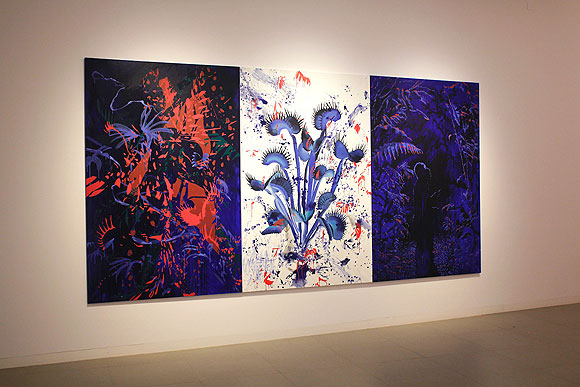 Ana Beltrá presenta sus nuevas obras en la Fundación Canaria para el Desarrollo de la Pintura // CanariasCreativa.com
