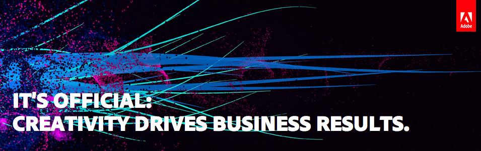 Un estudio de Adobe muestra el impacto de la creatividad en los resultados empresariales // CanariasCreativa.com