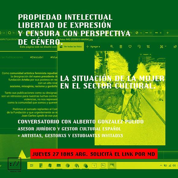 El canario Alberto González Pulido, presente en «hijas del arte» con un debate sobre arte con perspectiva de género  //  CanariasCreativa.com