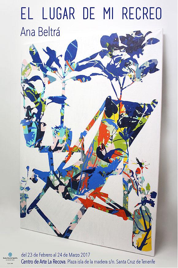 """Ana Beltrá muestra """"El lugar de mi recreo"""" en el Centro de Arte La Recova // CanariasCreativa.com"""