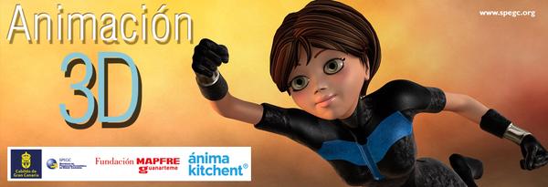 Curso de animación 3D de personajes a cargo de ánima kitchent en Gran Canaria // CanariasCreativa.com