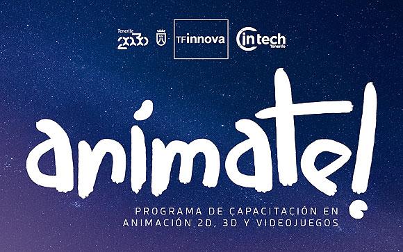 El Cabildo de Tenerife lanza la 3ª Edición del programa Anímate!  //  CanariasCreativa.com
