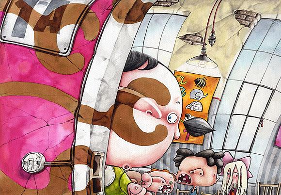 Grafito canalla - Anu Jato // CanariasCreativa.com
