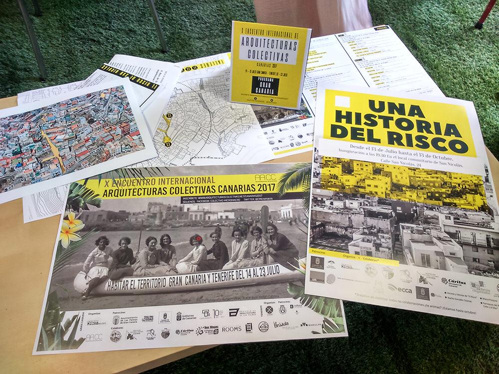 El Risco de San Nicolás acoge el X Encuentro Internacional de Arquitecturas Colectivas // CanariasCreativa.com