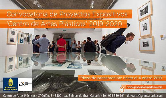 Convocatoria de Proyectos Expositivos «Centro de Artes Plásticas» 2019-2020 del Cabildo de Gran Canaria