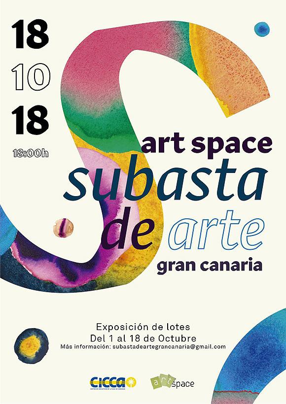 Art Space celebrará su primera edición de la Subasta de Arte el 18 de octubre en el CICCA.