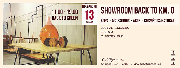 Regresa el showroom «Back to Km 0», en su 8ª Edición, a Back to Green // CanariasCreativa.com