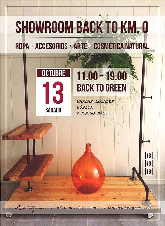 Regresa el showroom «Back to Km 0», en su 8ª Edición, a Back to Green // CanariasCreativa.com