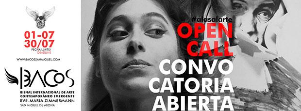 La Bienal Internacional de Arte Contemporáneo Emergente Eve-Maria Zimmermann (BACOS) abre desde hoy su convocatoria. // CanariasCreativa.com