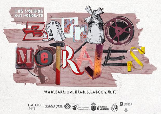 """Llega """"Barriometrajes"""" en el barrio Los Molinos- San Honorato, La Laguna, durante los meses de mayo y junio de 2018 // CanariasCreativa.com"""