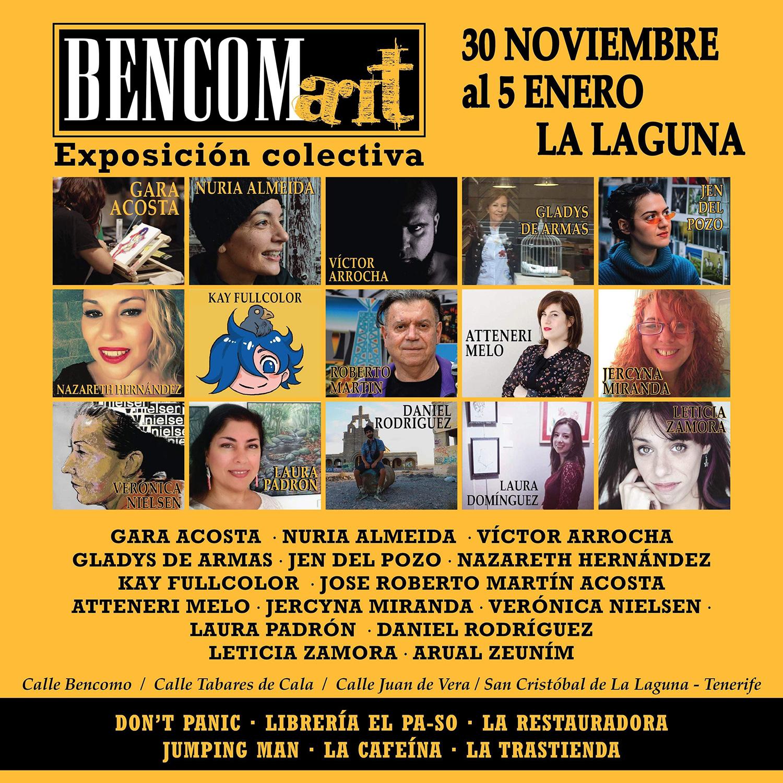 BENCOM Art celebra su segunda exposición colectiva en La Laguna // CanariasCreativa.com