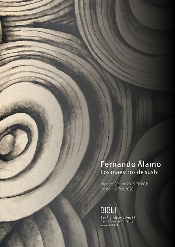 BIBLI inaugura la exposición «Los maestros de Sushi» de Fernando Álamo