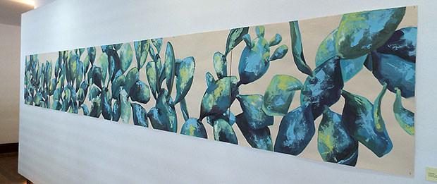 Plantas de la artista Brigitte Fassin en el García Sanabria // CanariasCreativa.com