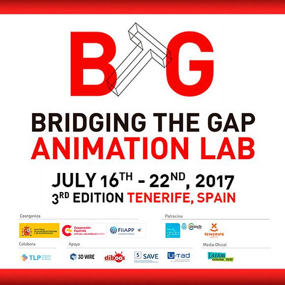 BTG Animation Lab 2017 en Tenerife, del 16 al 22 de julio. // CanariasCreativa.com