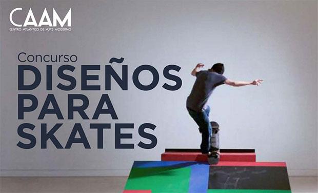 El CAAM convoca un concurso de diseño para Skates // CanariasCreativa.com