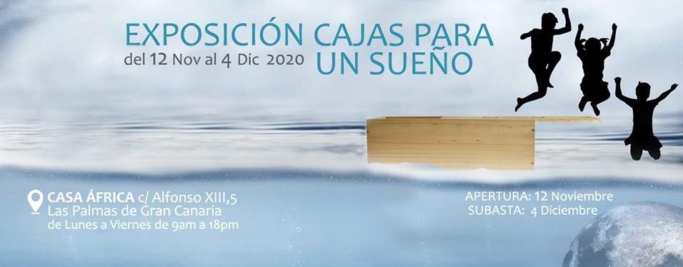 Desde hoy, y hasta el 4 de diciembre, regresa la iniciativa artística-solidaria «Cajas para un sueño 2020» // CanariasCreativa.com