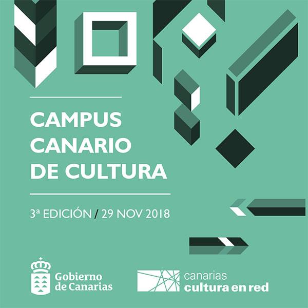 El Gobierno de Canarias organiza el III Campus Canario de Cultura para técnicos del sector público y gestores del privado // CanariasCreativa.com