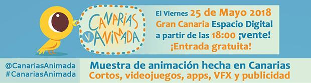 Canarias Animada vuelve a las andadas en la que será su quinta edición // CanariasCreativa.com