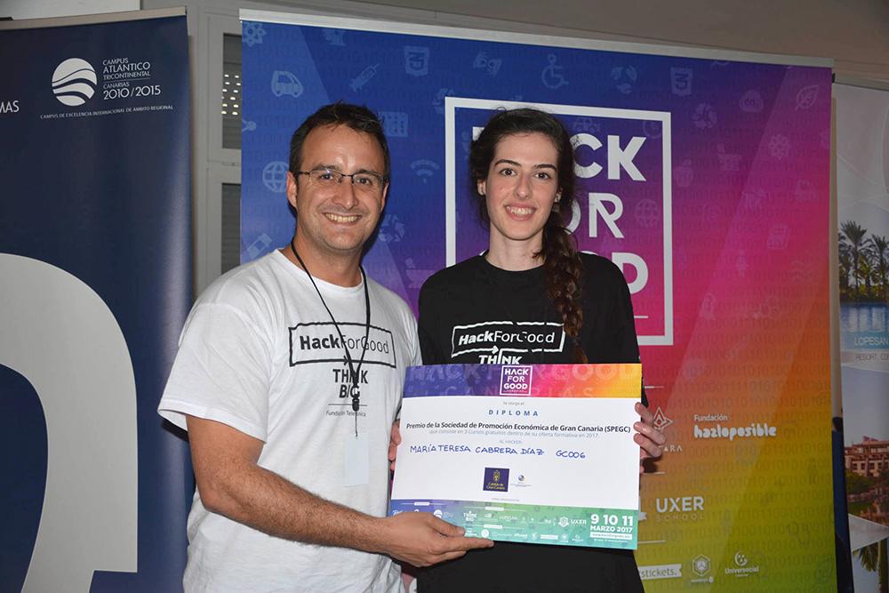 PicComunica se alza como ganadora de la V edición de HackForGood Canarias // CanariasCreativa.com