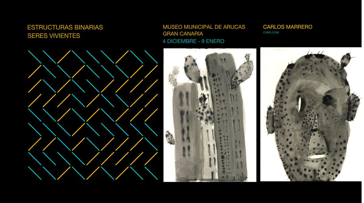 Exposición de Carlos Marrero en el Museo Municipal de Arucas // CanariasCreativa.com