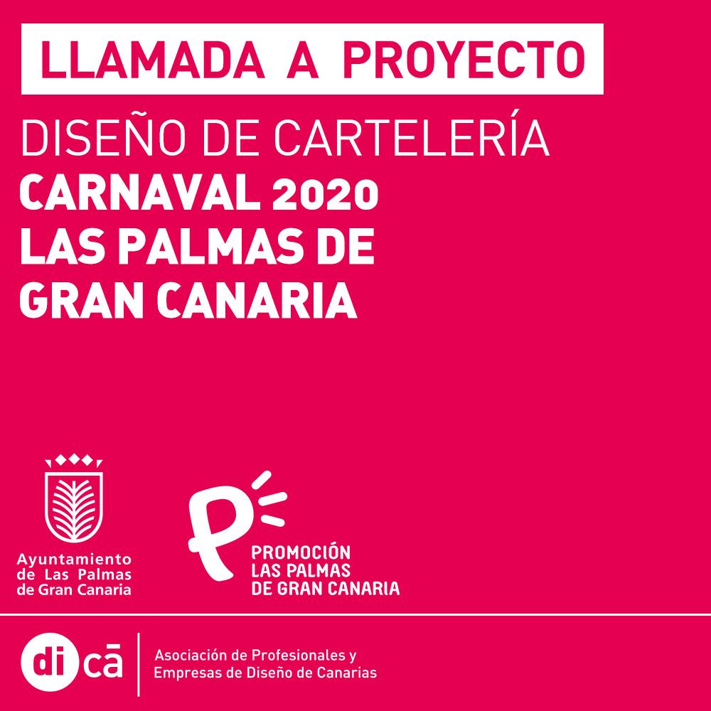 El Carnaval de Las Palmas de Gran Canaria abre mañana el plazo a profesionales del diseño y la ilustración para elaborar el cartel de las fiestas del próximo año