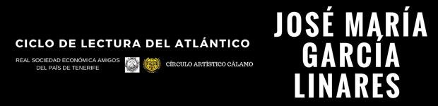 El Ciclo de Lectura del Atlántico anuncia una cita, este viernes 13 de abril, con José María García Linares.