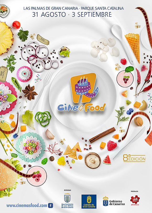 Cerca de sesenta películas, cineastas invitados y  preestrenos nacionales, ingredientes de Cine+Food 2017 // CanariasCreativa.com
