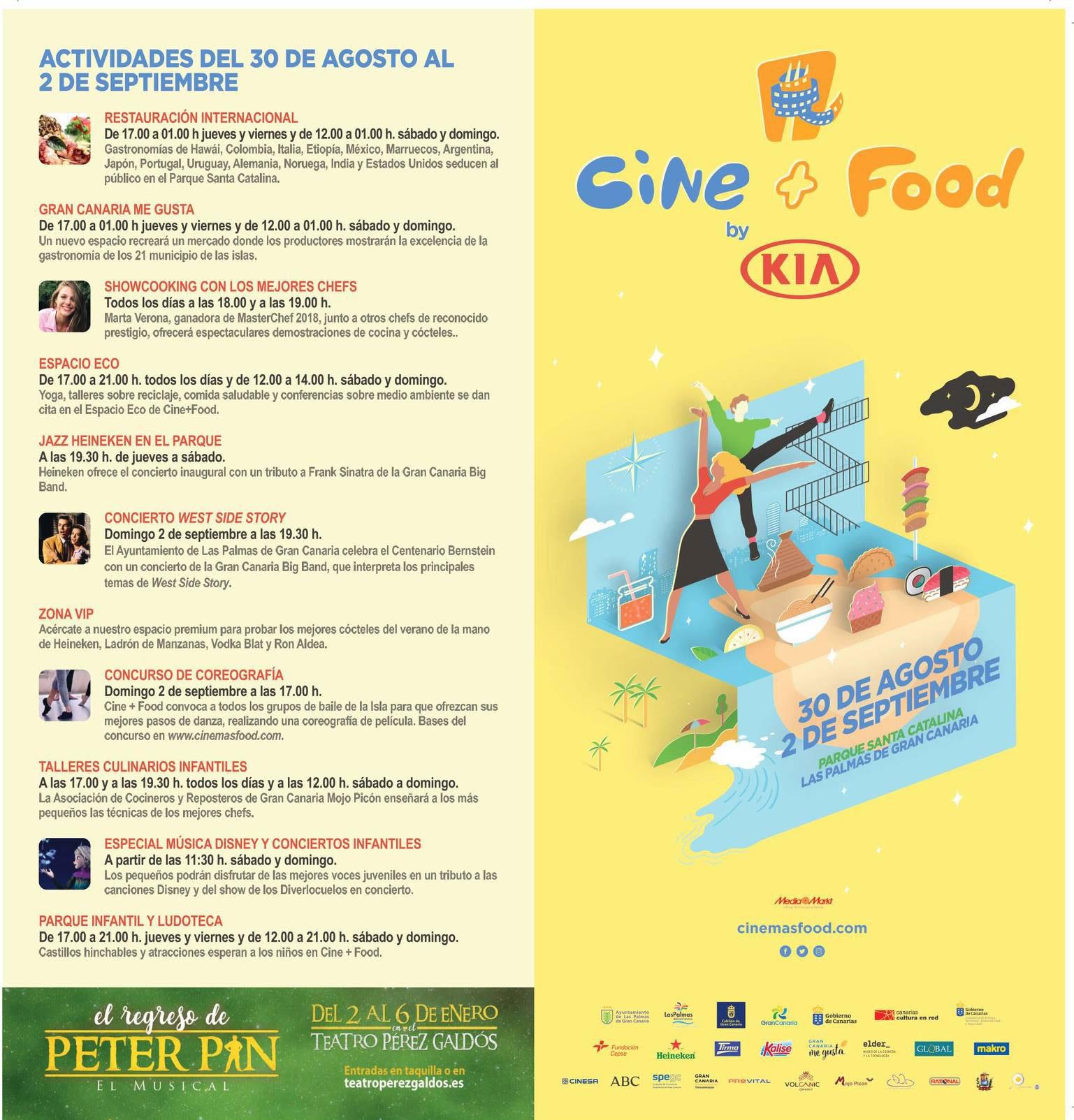 Cine+Food reúne este fin de semana la gastronomía de los cuatro continentes en su primera edición sostenible.
