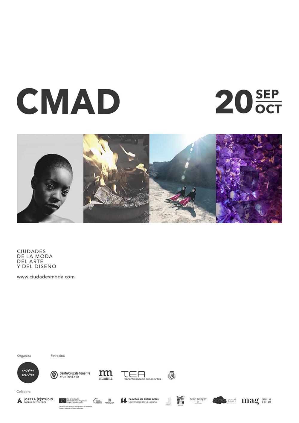 Del 20 de septiembre al 20 de octubre, regresa «Ciudades de la Moda, del Arte y del Diseño» a Santa Cruz de Tenerife. // CanariasCreativa.com