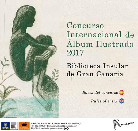 La Biblioteca Insular de Gran Canaria convoca su Concurso Internacional de Álbum Ilustrado 2017 // CanariasCreativa.com