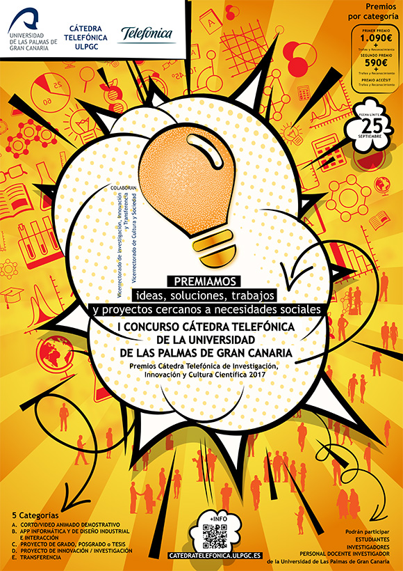 La ULPGC convoca el I Concurso Cátedra Telefónica // CanariasCreativa.com