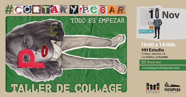 CortaPega Club repite taller de collage en Gran Canaria el próximo 10 de noviembre // CanariasCreativa.com