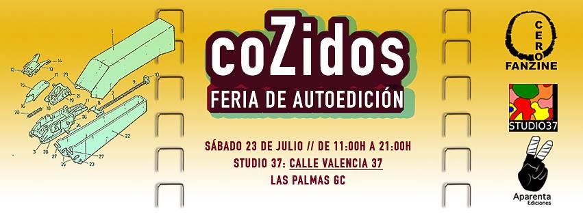 Llega coZidos, el evento fanzinero que no deberías perderte en Gran Canaria // CanariasCreativa.com