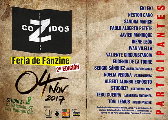 CoZidos, la feria de fanzines, confirma ya sus primeros asistentes // CanariasCreativa.com