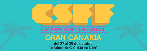 El Canarias Surf Film Festival llega a Gran Canaria, los días 27, 28 y 29 de octubre. // CanariasCreativa.com