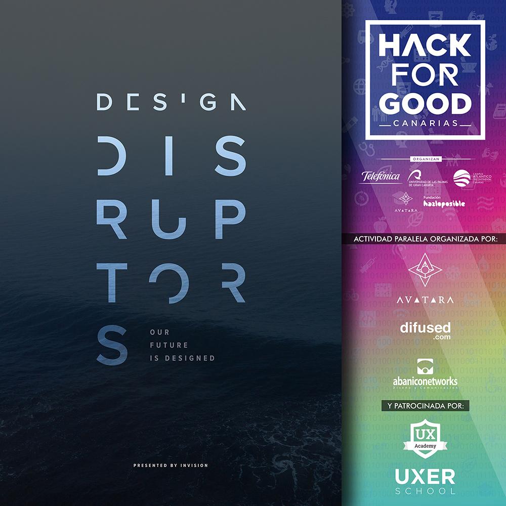 """HackForGood Canarias acoge el primer visionado en las islas del prestigioso documental """"Design Disruptors"""". // CanariasCreativa.com"""