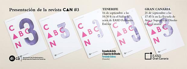 di-Ca anuncia la presentación del nº3 de su revista CAN // CanariasCreativa.com