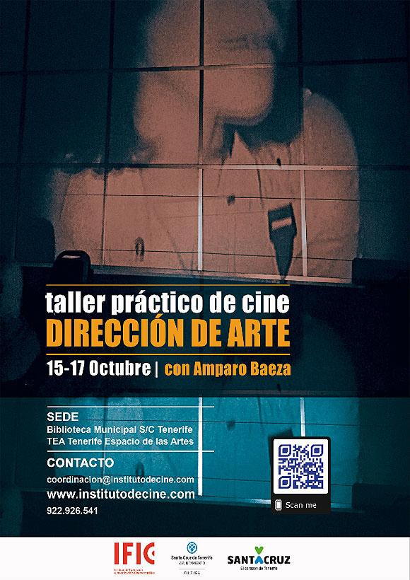 Amparo Baeza imparte un «Taller de Dirección de Arte» en la Biblioteca Municipal, en TEA - Tenerife Espacio de las Artes // CanariasCreativa.com