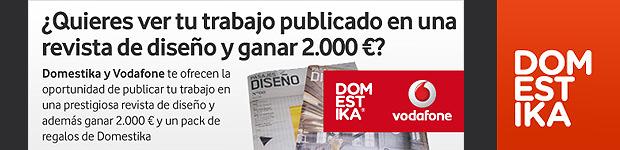 DomestiKa y Vodafone te invitan a participar en un concurso de diseño