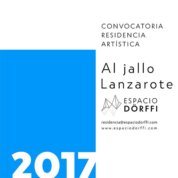 Espacio Dörffi abre una convocatoria residencia artística Al jallo-Lanzarote // CanariasCreativa.com