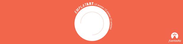 FuenteAlta invita a 12 artistas canarios a customizar platos para la 3ª Edición de su calendario  // CanariasCreativa.com
