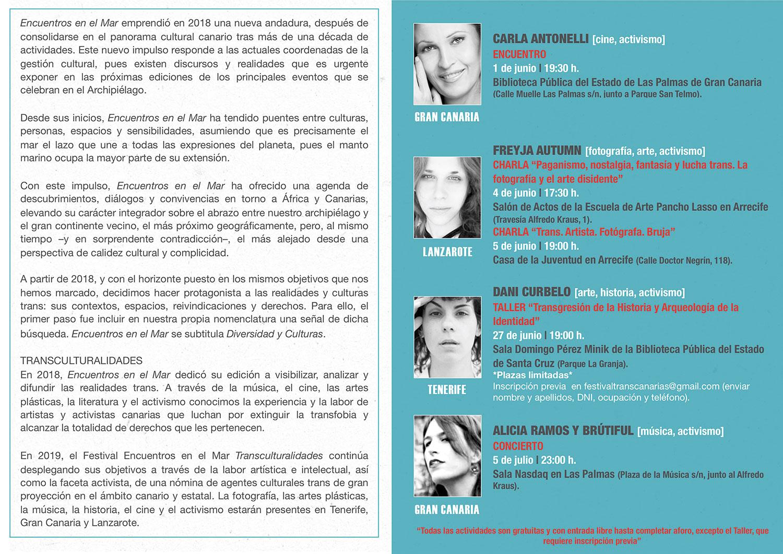 Llega la XV edición del Festival Encuentros en el Mar // CanariasCreativa.com