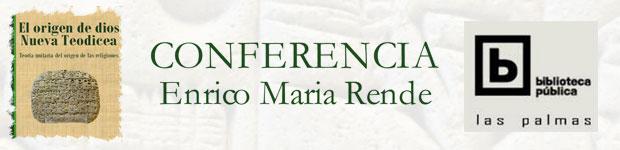 El próximo jueves, 26 de julio, el escritor Enrico Maria Rende presenta su teoría «Nueva Teodicea». // CanariasCreativa.com