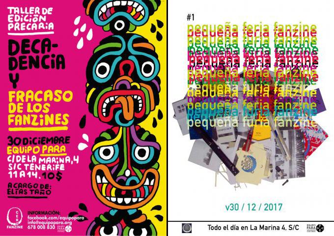 El equipo PARA se llena de fanzines para celebrar el fin de año // CanariasCreativa.com