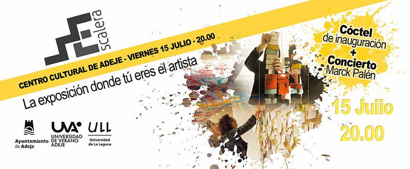Escalera, una exposición donde el público es el artista // CanariasCreativa.com