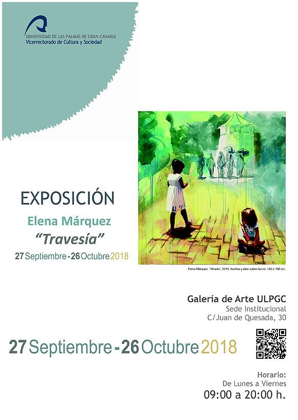Elena Márquez expone en la Galería de arte de la ULPGC // CanariasCreativa.com