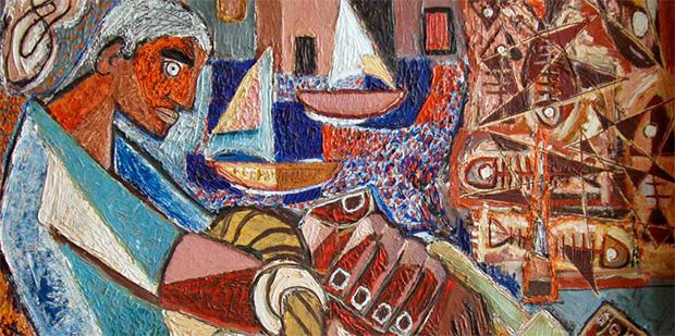 Muestra colectiva de dibujo y pinturas del alumnado de la Escuela Luján Pérez de Santa Lucía (GC) // CanariasCreativa.com